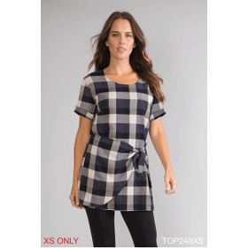 The Perfect Tie Top - XS (3 pc. ppk.)