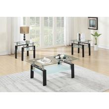 Evelin 3pc Coffee Table Set