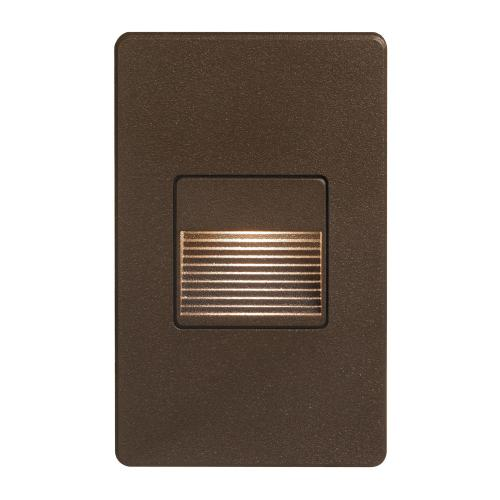Bronze Rectangle In/outdoor 3w LED Wall