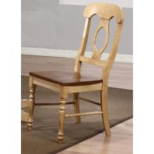 DLU-BR-C50-PW-2  Napoleon Dining Chair  Set of 2