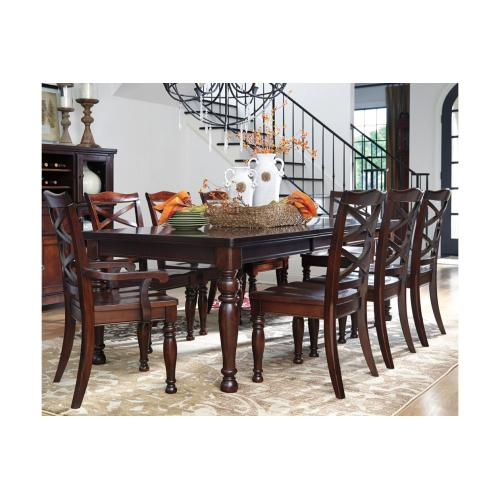 Porter RECT Dining Room EXT Table Rustic Brown