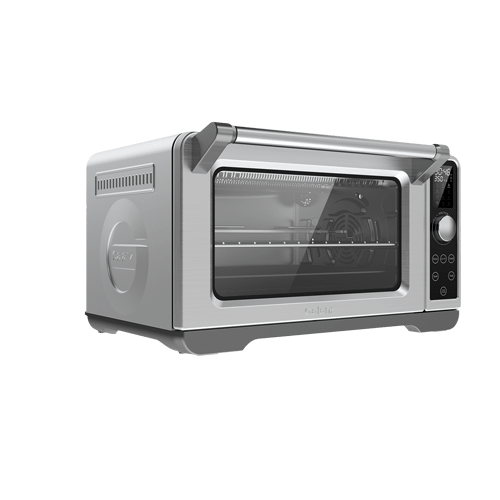 Galanz - Galanz 1.1 Cu Ft Digital Toaster Oven with Air Fry in Stainless Steel