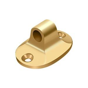 Cabin Hook Eye for British Style - PVD Polished Brass Product Image
