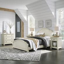 Provence Queen Bed, Nightstand and Chest