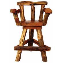 TF-0794 Sawtooth Swivel Bar Chair