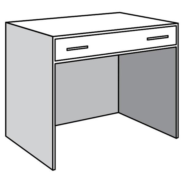 See Details - Open Base Unit with Convertible Drawer