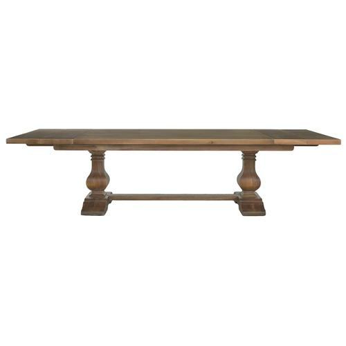 Trestle Extending Table 96'' extends to 120''