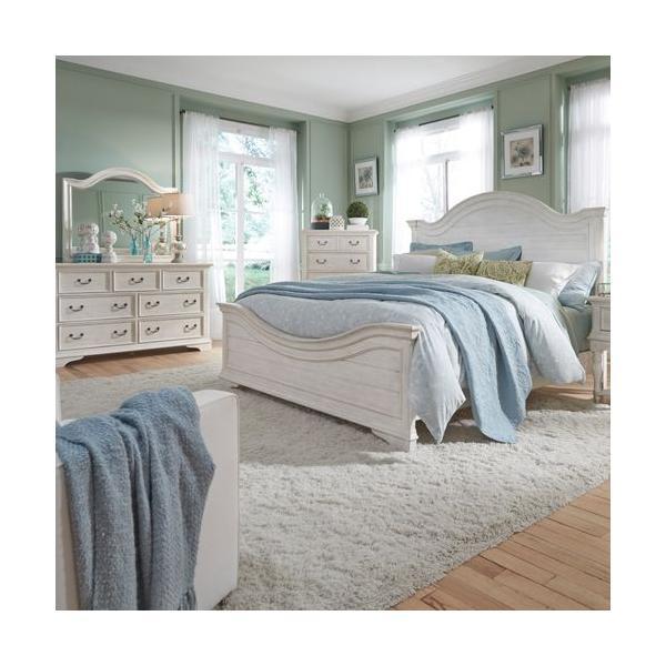 See Details - Queen Panel Bed, Dresser & Mirror
