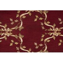 Ashton House Ribbon Trellis A01f Burgundy Broadloom