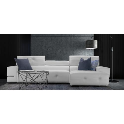 Paris Sectional (173-097; Wood legs - Black B6)