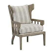Victory Bars Wingback Wooden Chair