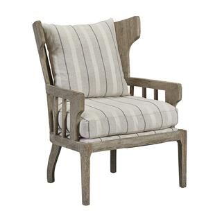 See Details - Victory Bars Wingback Wooden Chair