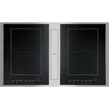"36"" Induction Downdraft Cooktop, Stainless Steel"