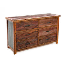 View Product - Cowboy Up 6 Drawer Dresser