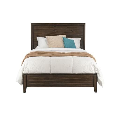 Winchester Tobacco Queen Panel Bed