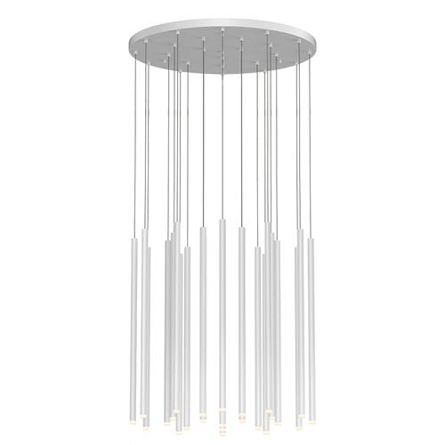"""Light Chimes™ 24-Light 24"""" LED Pendant"""
