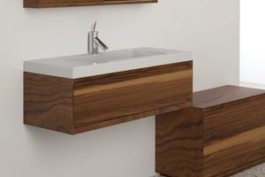 "Wall-mount vanity Wall-mount Metro - 10"" Height Product Image"