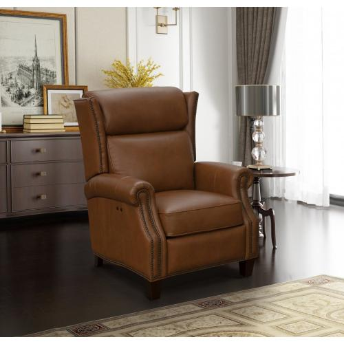 Rachel Power Recline Cognac