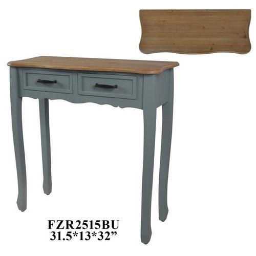31.5X13X32 CONSOLE TABLE. MDF+VENNER, CREAM,1PC/3.71'