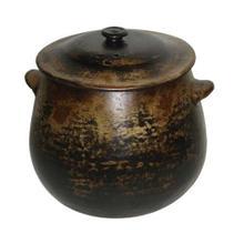 Antique Black Cooking Pot