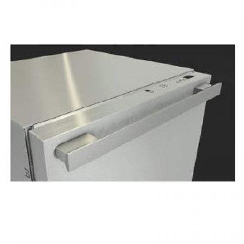GFVi614/77-1D PureLine Handle with Clean Touch Steel Panel
