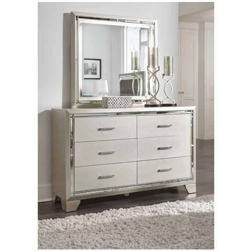 Signature Design By Ashley - Lonnix Bedroom Mirror
