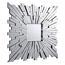 Modern 47 in. Contemporary Mirror in Clear