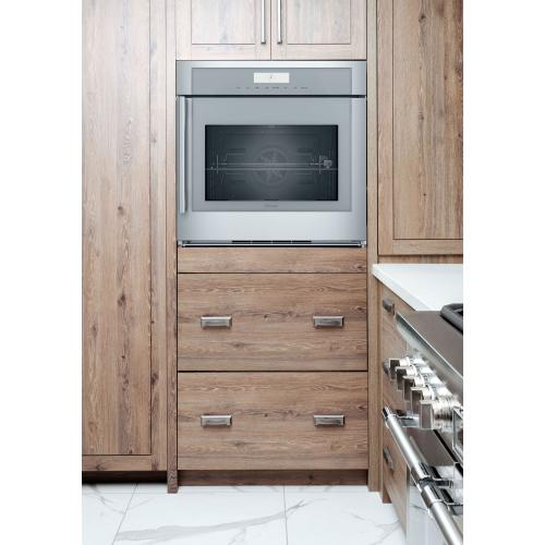 Thermador - Single Wall Oven 30'' Right Side Opening Door, Stainless Steel MED301RWS