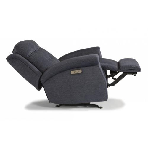 - Theon Fabric Power Rocking Recliner with Power Headrest