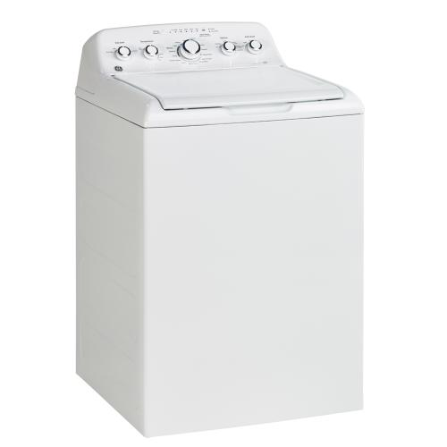 GE 4.9 Cu. Ft. Top Load Electric Washer White - GTW460BMMWW