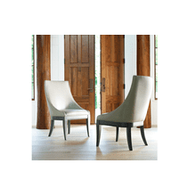 Tower Suite - Moonstone Finish Upholstered Host Chair