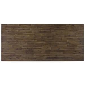"Standard Furniture - Hawkins 88"" Brown Trestle Dining Table"