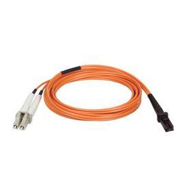 Duplex Multimode 62.5/125 Fiber Patch Cable (MTRJ/LC), 2M (6 ft.)