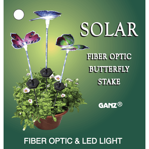 Butterfly Solar Garden Stakes (6 pc. ppk.)