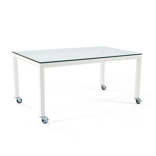 Parsons Desk With Casters