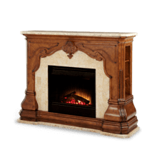 See Details - 3pc Fireplace