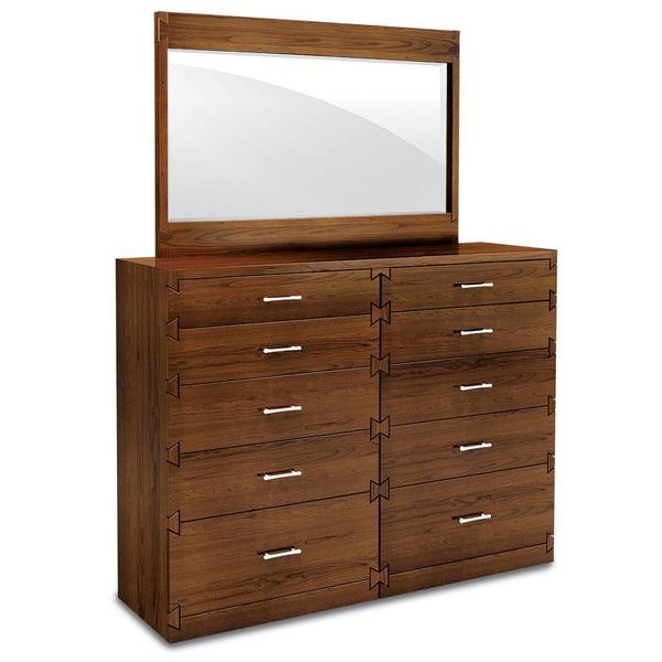 "See Details - Dovetail 10-Drawer Bureau, 60""w x 18""d x 46 ""h"