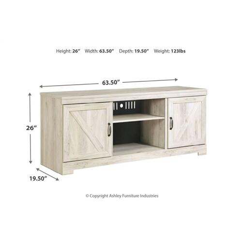 Bellaby LG TV Stand Whitewash