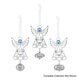 Angel Blessings Christmas Ornaments (72 pc. ppk.)