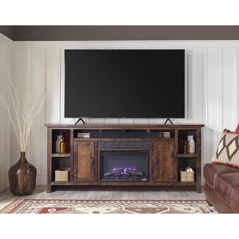 "Aspen Furniture - 84"" Fireplace Console"