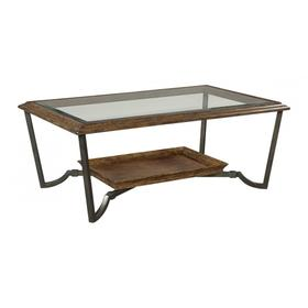 Cocktail Table w/Glass Top