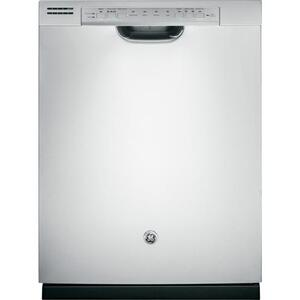 GE® Dishwasher with Front Controls (This is a Stock Photo, actual unit (s) appearance may contain cosmetic blemishes. Please call store if you would like actual pictures). This unit carries our 6 month warranty, MANUFACTURER WARRANTY and REBATE NOT VALID with this item. ISI 34509