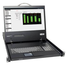 1U Rack-Mount Console with 17-in. LCD