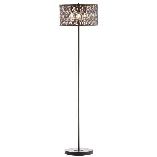 Mosiac Floor Lamp - Orb / Multi
