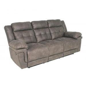 Anastasia Recliner Sofa, Grey