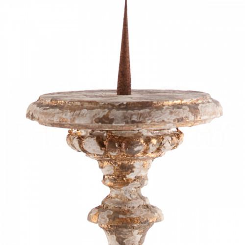 Grayson Gilded Candlestick