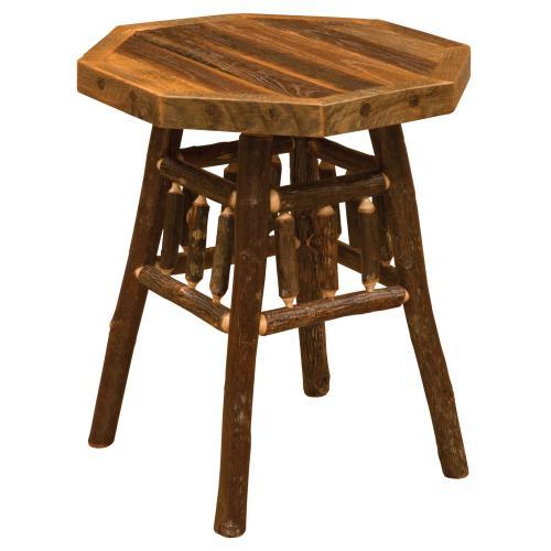 Teton End Table - Barnwood
