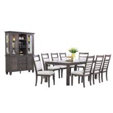 See Details - Dining Set with China Cabinet - Shade of Gray (11 Piece)