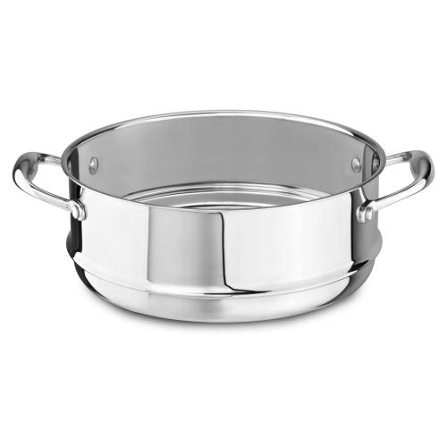 18/10 Stainless Steel Steamer Insert - Stainless Look