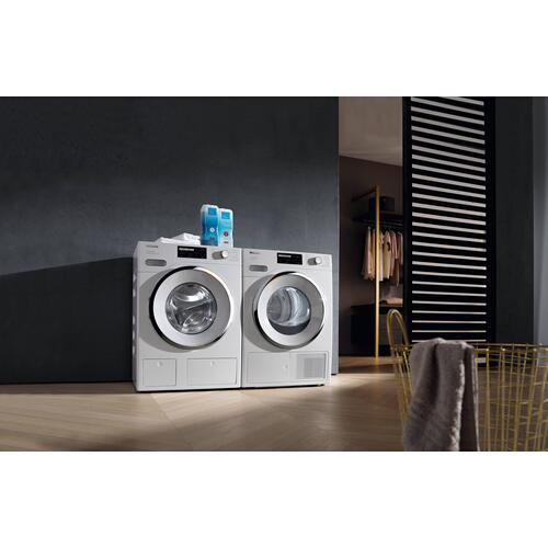 Miele - WXI 860 WCS TDos & IntenseWash - W1 Front-loading washing machine with TwinDos, IntenseWash, and Miele@home for ultimate cleanliness and comfort.